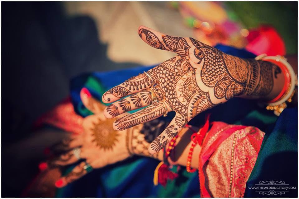 bridal mehandi:the wedding story