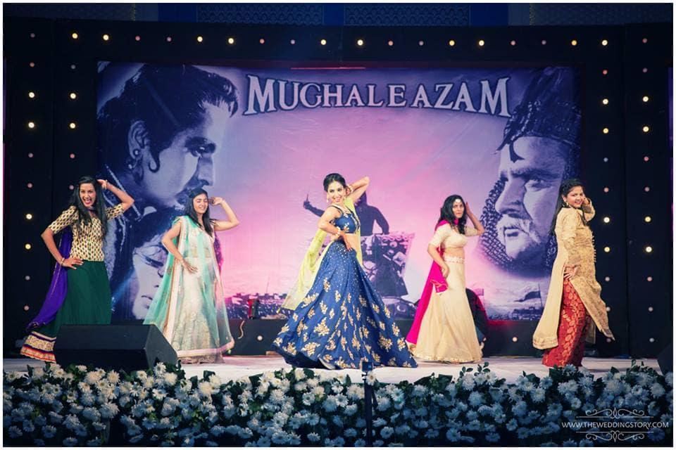 sangeet dance:the wedding story
