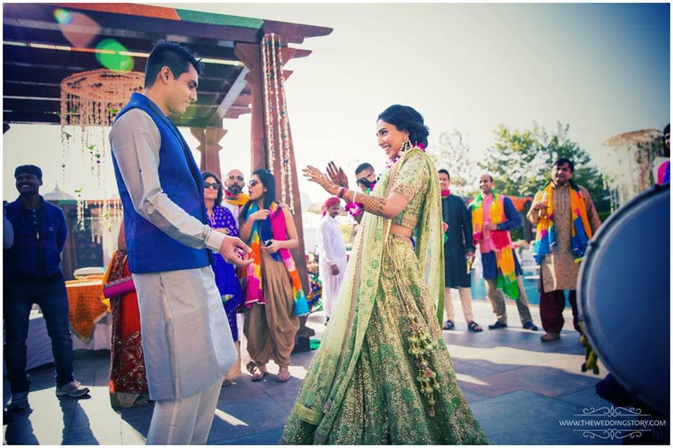 dance clicks:the wedding story