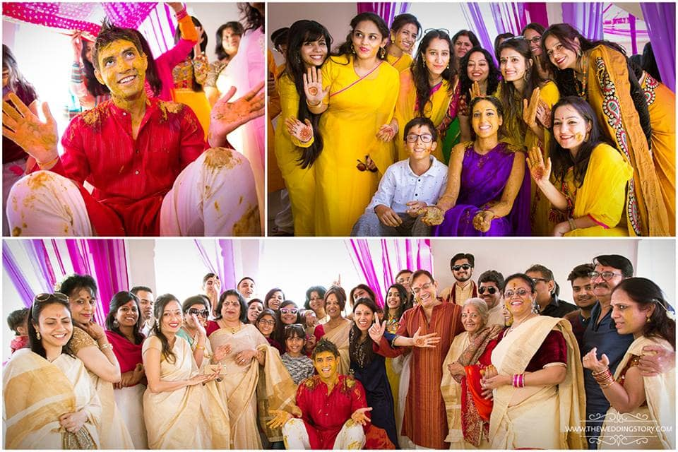 wedding ritual haldi:the wedding story