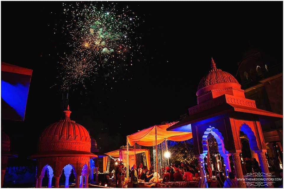 wedding venue:the wedding story