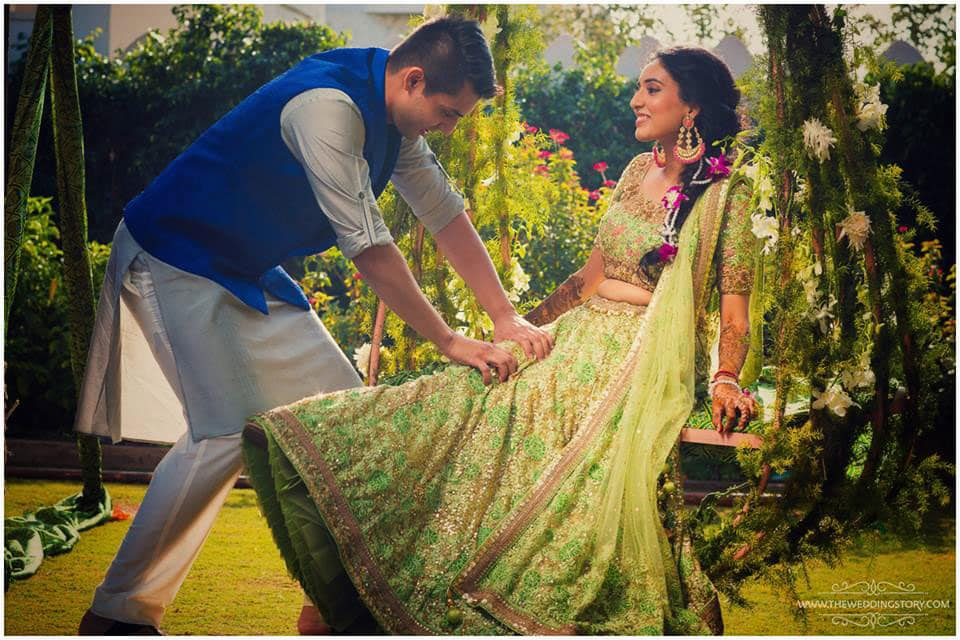 couple photograph:the wedding story