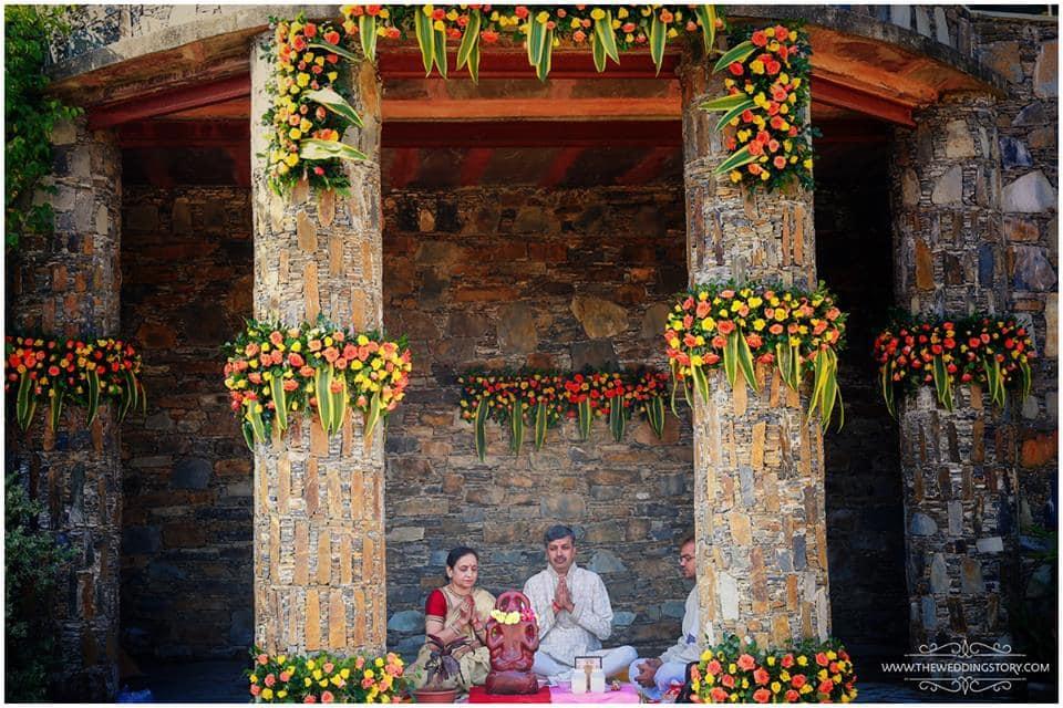 wedding ritual:the wedding story