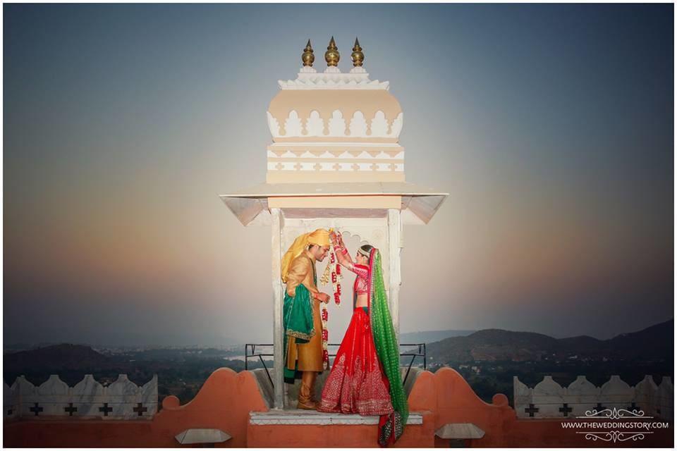 varmala ritual:the wedding story