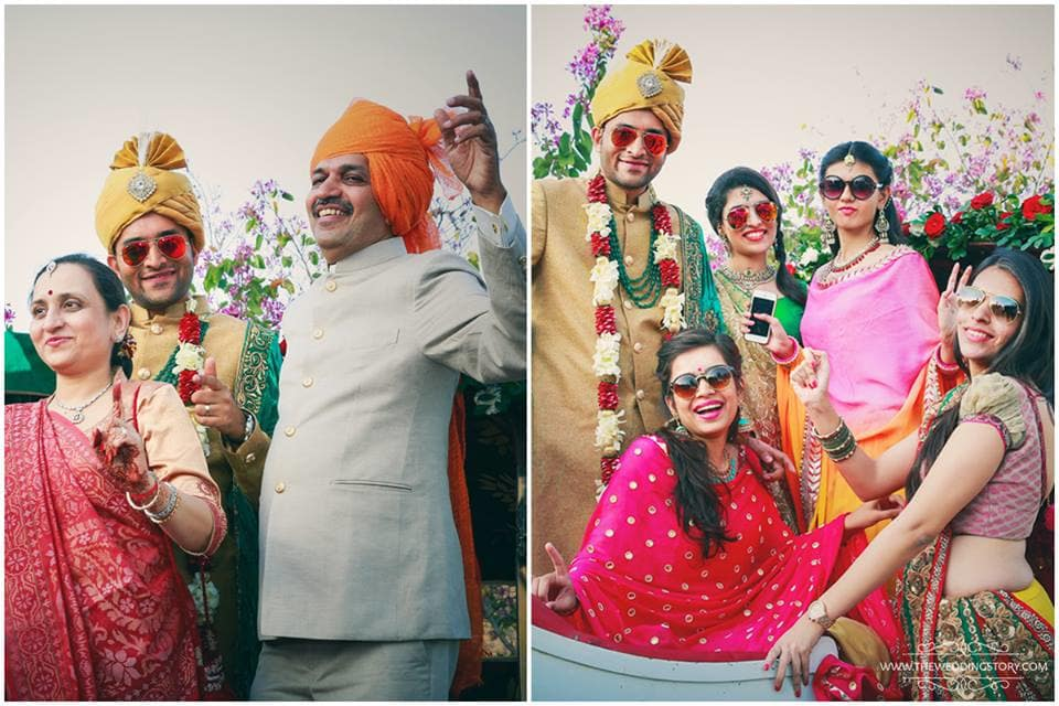 group photography:the wedding story