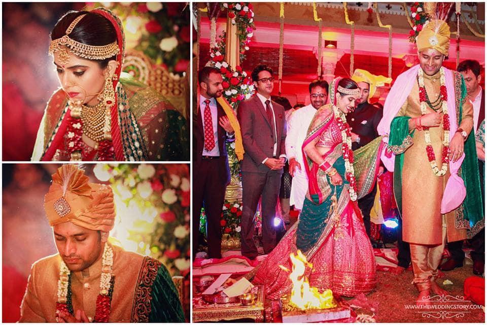 wedding ritual phere:the wedding story