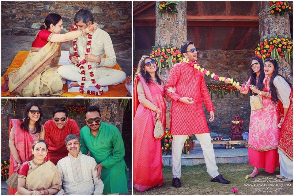 wedding clicks:the wedding story