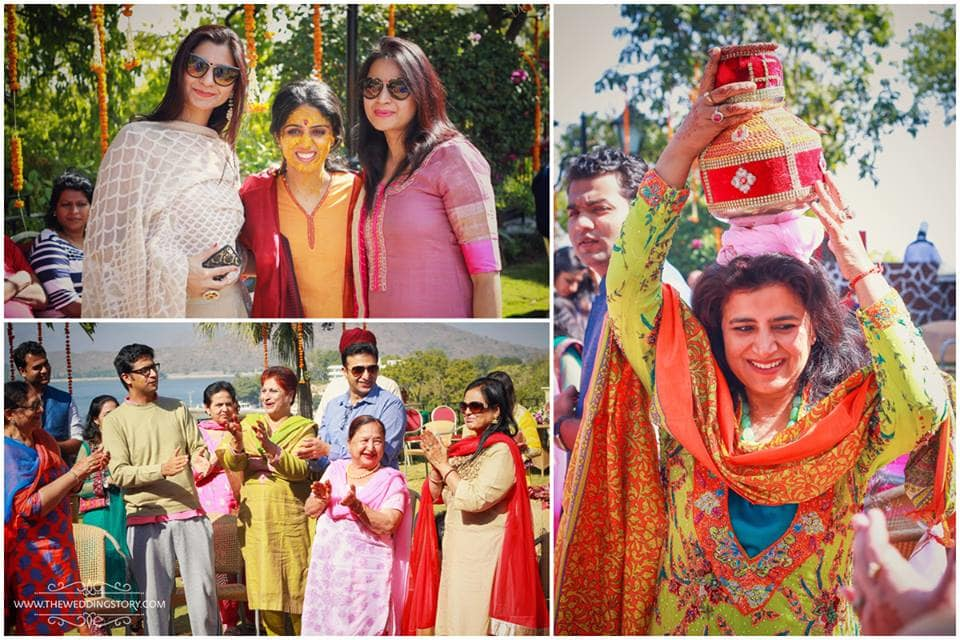 haldi:the wedding story