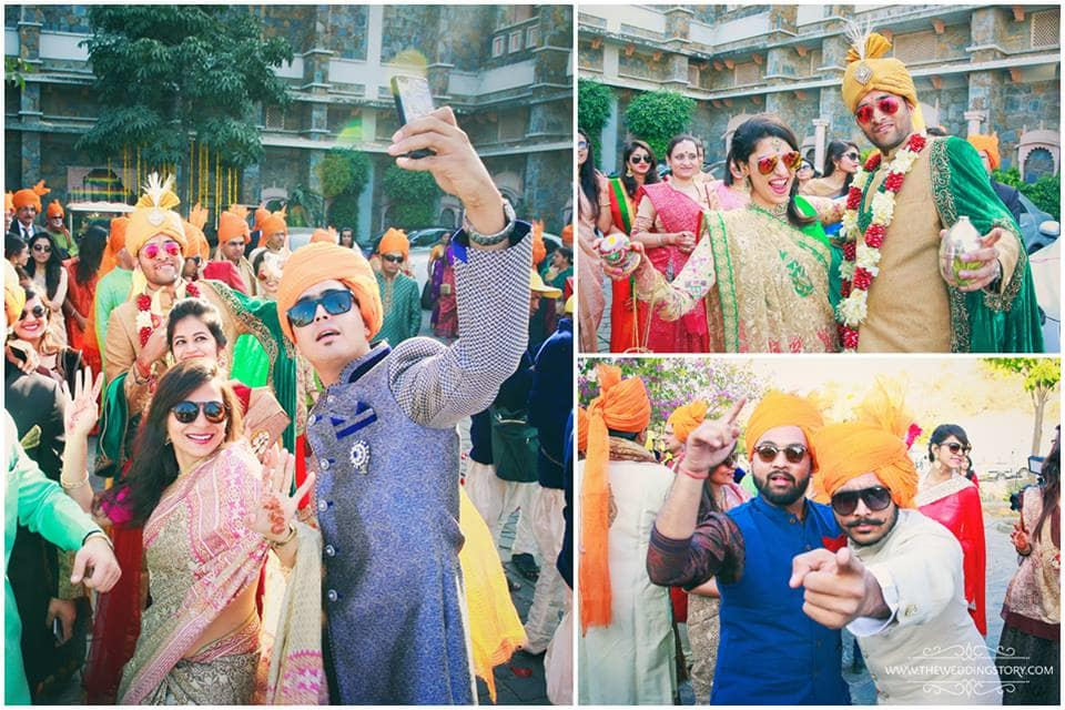 baraat welcome:the wedding story