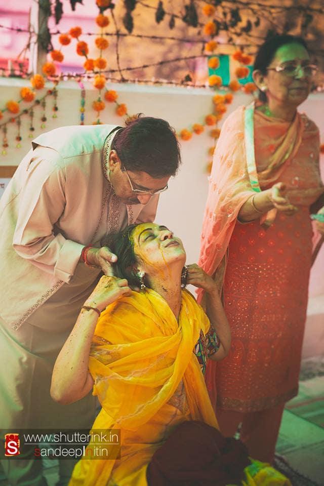 haldi ritual:shutterink photography