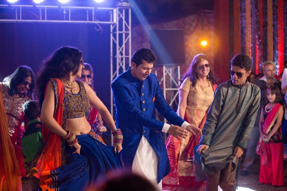 sangeet dance:shutterink photography