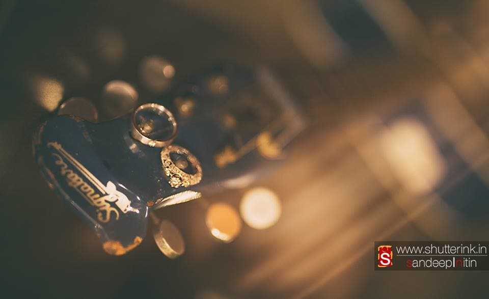 wedding rings:shutterink photography