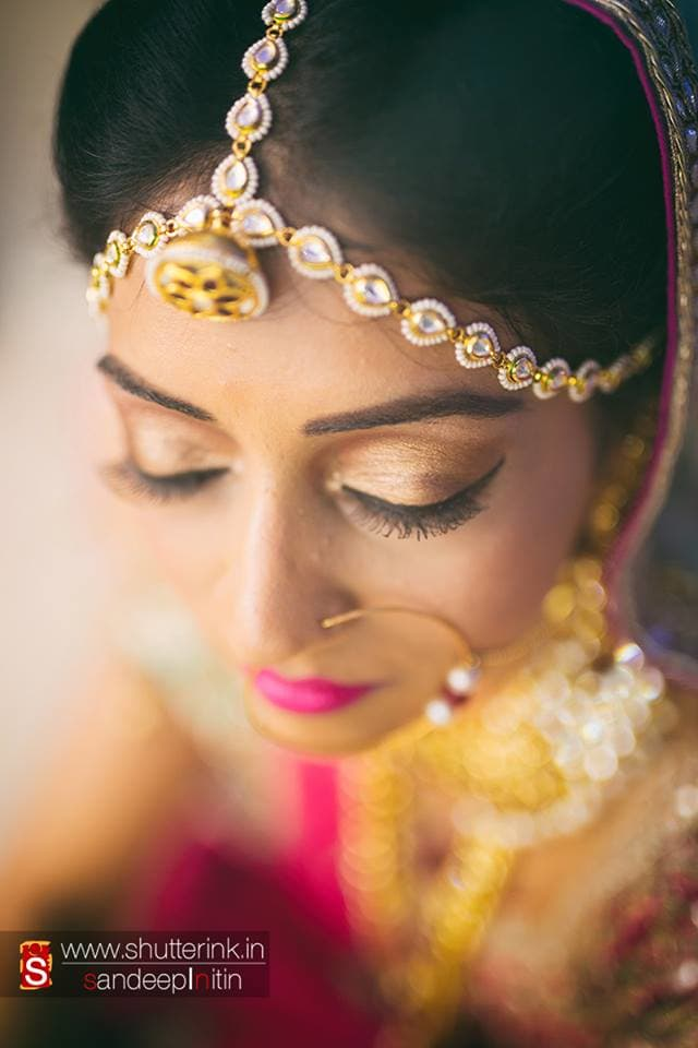 beautiful bridal click:shutterink photography