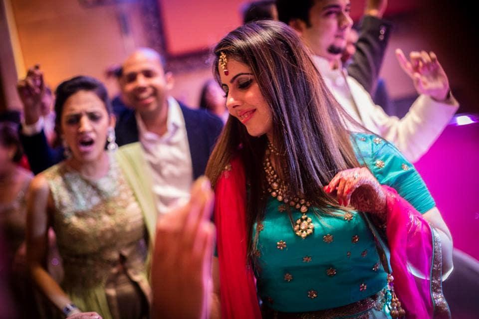sangeet dance:candid shutters