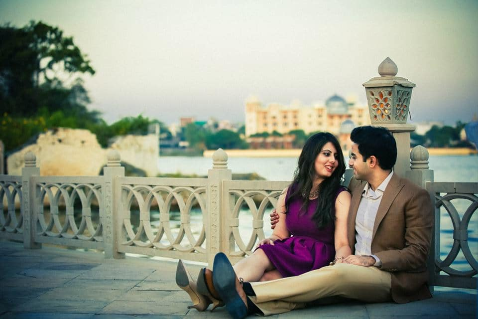 pre wedding loveable clicks:candid shutters
