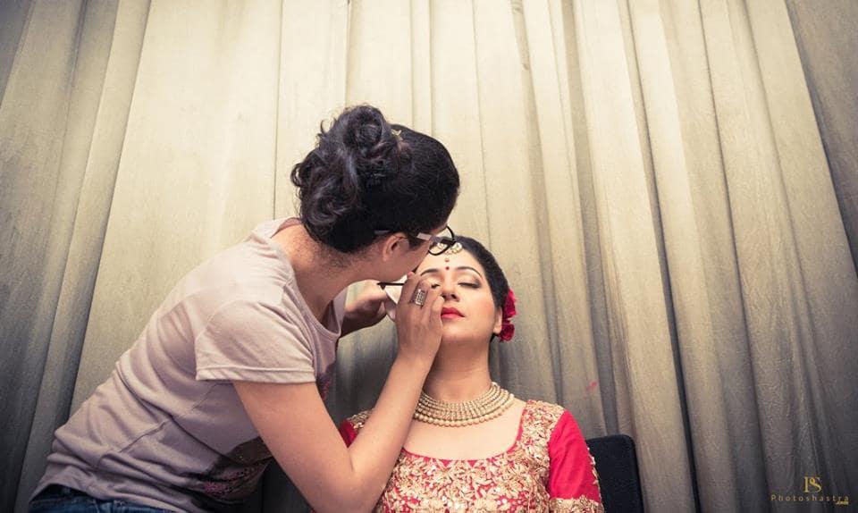 bridal makeup:photoshastra