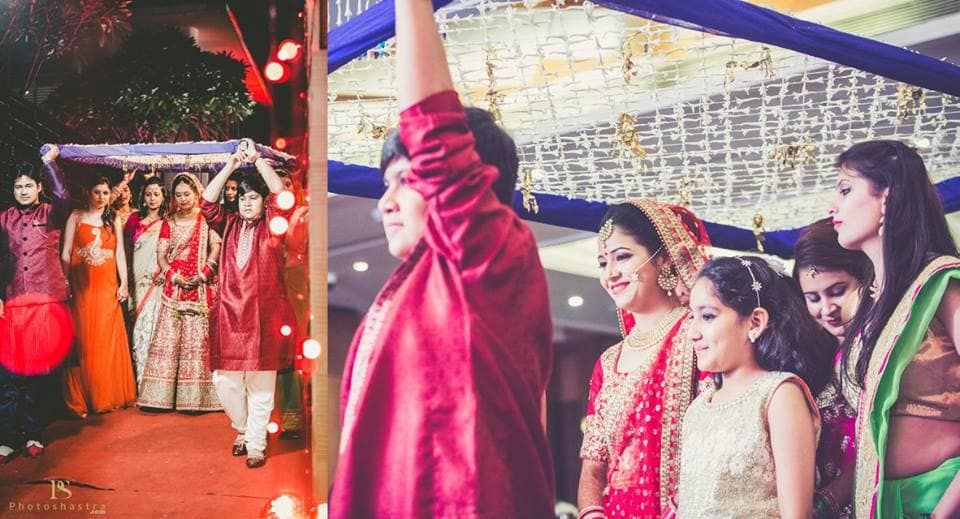bridal entry:photoshastra
