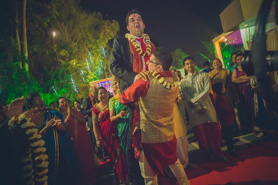 baraat welcome:candid shutters