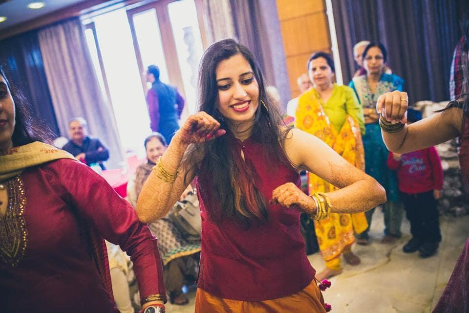 wedding ritual haldi:candid shutters