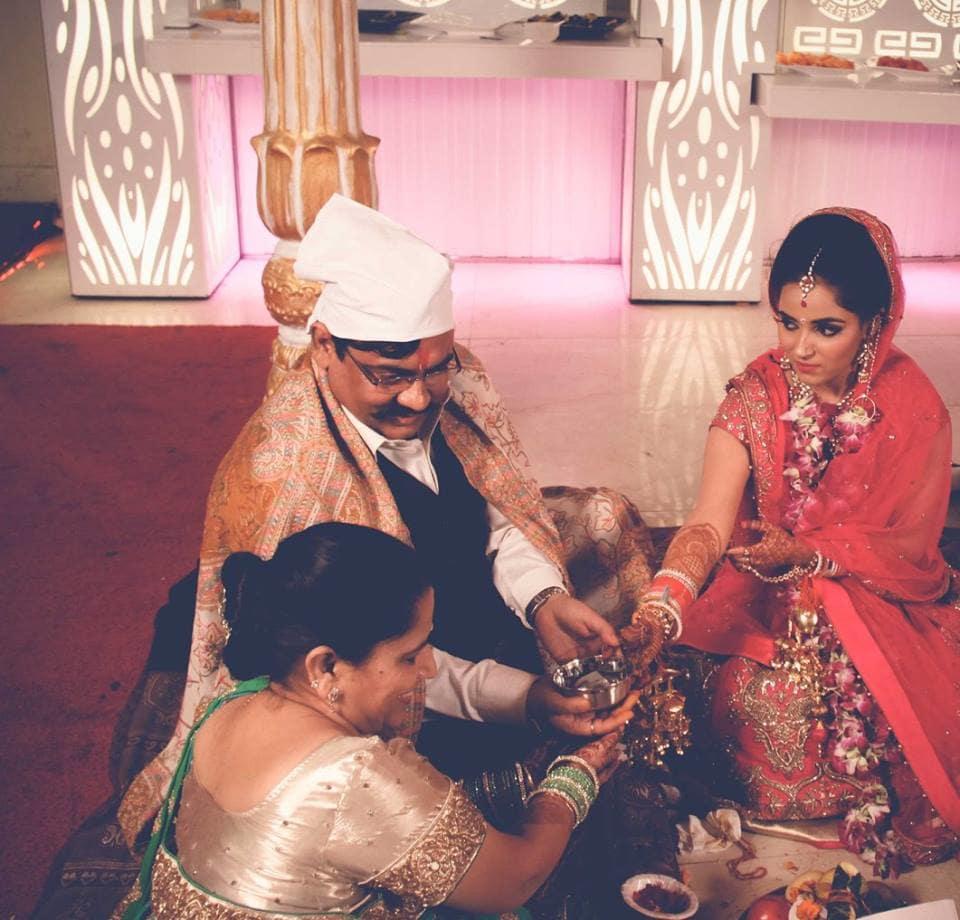 rituals with bride:pavan jacob photography