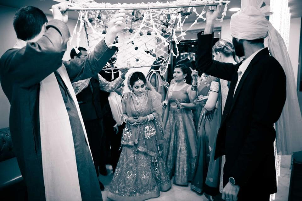 bridal entry:pavan jacob photography