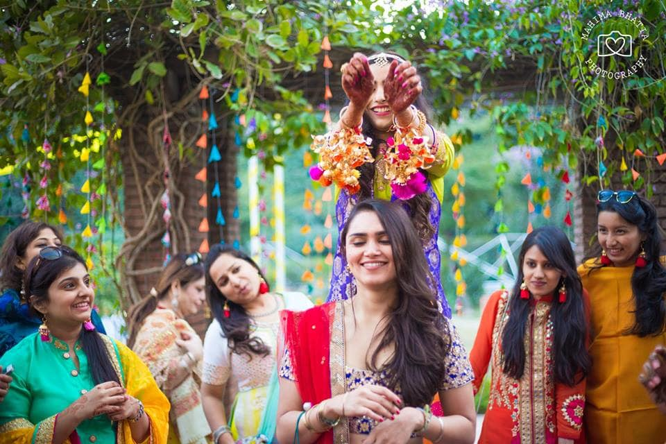 bridemaid shot:mahima bhatia photography