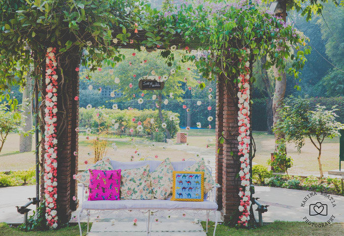 wedding decoration:mahima bhatia photography
