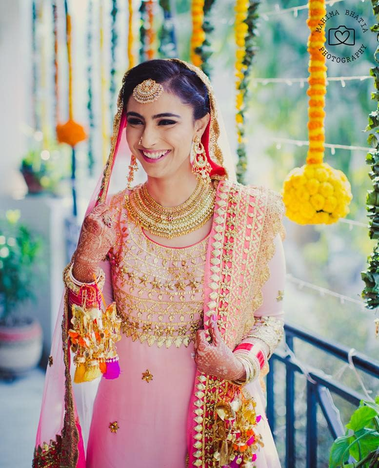 bride photo shoot:mahima bhatia photography