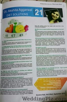 Akshita Aggarwal Dietician Dieticians and Nutritionists weddingplz