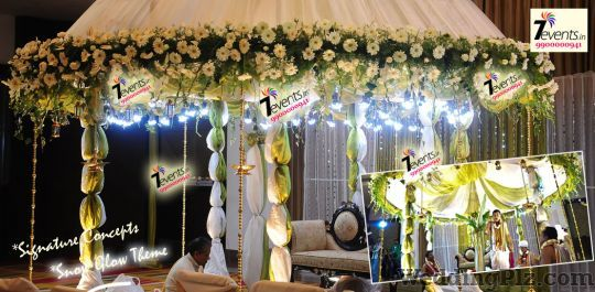 Portfolio images 7 events jp nagar south bangalore for 25th wedding anniversary stage decoration