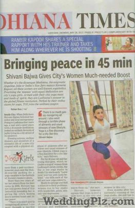 Shivani Bajwas Yogasutra Gym weddingplz