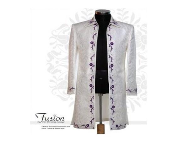 Fusion   The Dressing Lounge Groom Wear weddingplz