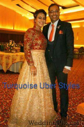 Turquoise Uber Styles Groom Wear weddingplz