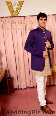Vivek Gupta Fashion Designer Groom Wear weddingplz