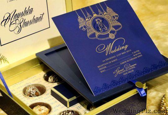Golden Printers Invitation Cards weddingplz