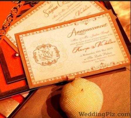 Artistic Art Press Invitation Cards weddingplz