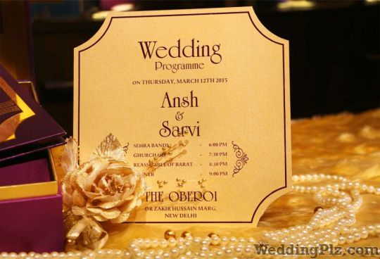 Foil Printer Invitation Cards weddingplz
