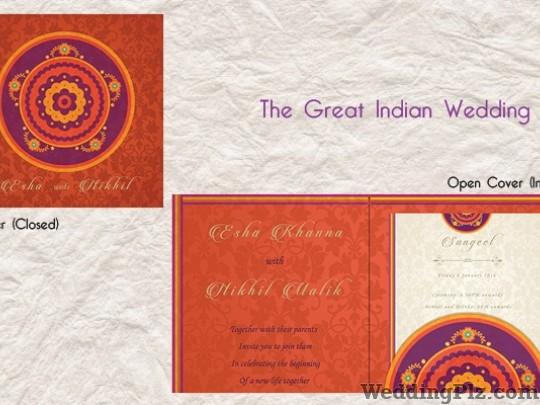 Pooja Johry Graphic Designer Invitation Cards weddingplz