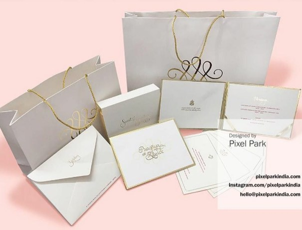 Pixel Park Invitation Cards weddingplz