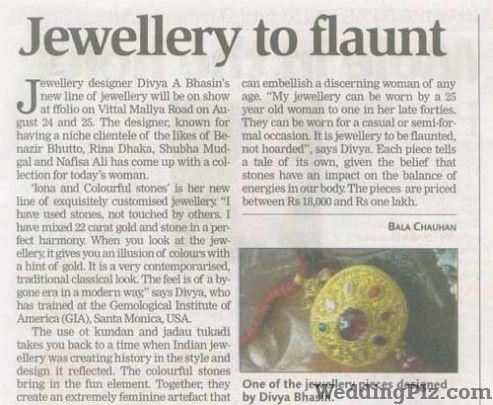 Divvya A Bhasin Jewellery weddingplz