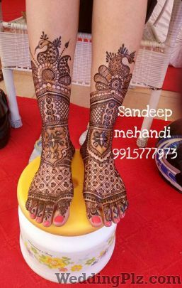 Sandeep Mehandi Arts Mehndi Artists weddingplz