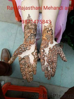 Ravi Rajasthani Mehandi Arts Mehndi Artists weddingplz