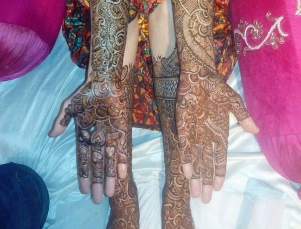 Harish Mehandi Art Mehndi Artists weddingplz