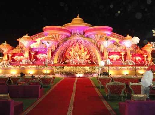 S. K. Tent and Light House Tent House weddingplz