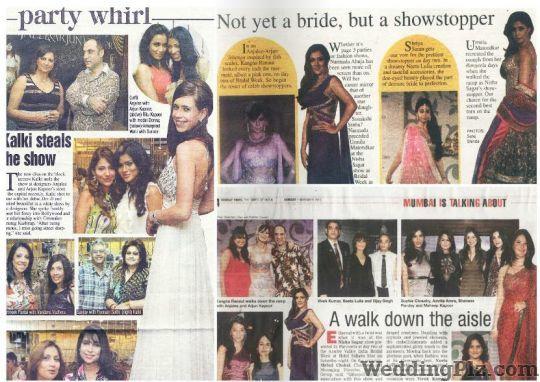Anjallee and Arjun Kapoor Wedding Lehnga and Sarees weddingplz