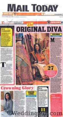 Ritu Kumar Bridal Collection Wedding Lehnga and Sarees weddingplz