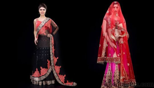 Aagaz By Karan Raj Wedding Lehnga and Sarees weddingplz