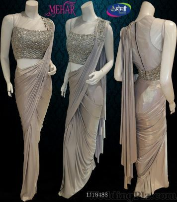 Mehar By Shrimati Sarees Wedding Lehnga and Sarees weddingplz