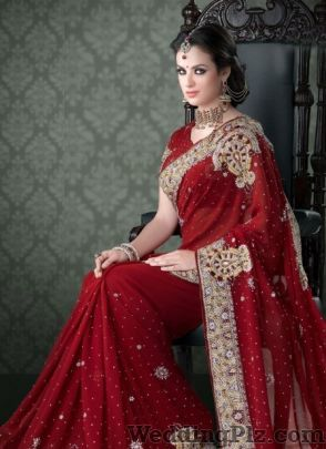 Naukar Fabrics Wedding Lehnga and Sarees weddingplz