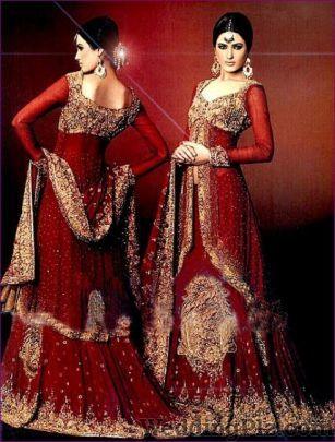 Pamela Bridal Gown Wedding Lehnga and Sarees weddingplz